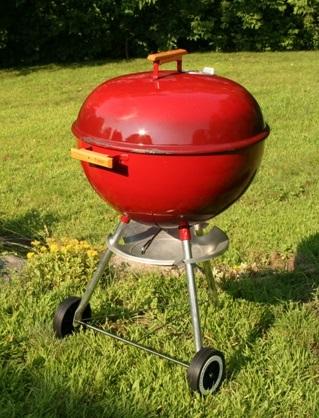 test weber grill