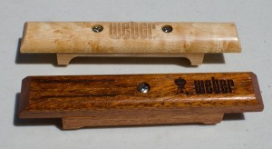 weber wooden handles