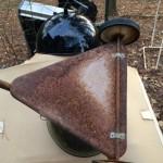 weber grill metal triangle underside