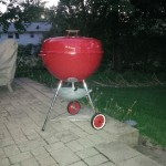 "1970s 26"" Red Kettle 8"