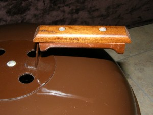 1974 Brown Smokey offset handle and vent control 1