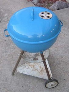 1956-57 Sky Blue 18.5 kettle