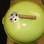 1974 Lime Green Kettle lid 1