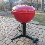 1970s Red Electric Kettle 3