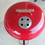 1970s Red Electric kettle lid