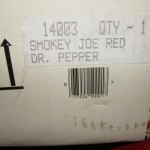 1988 Smokey Joe Dr Pepper box label