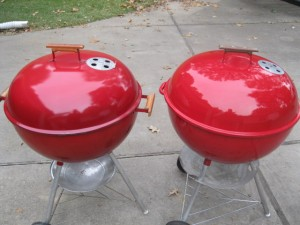 1964 Red Wooddale vs. 1989 Red Kettle
