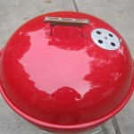 1964 Red Weber Wooddale - Lid