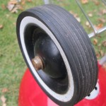 1964 Red Wooddale - Wheel