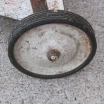 1956-57 old style kettle wheel