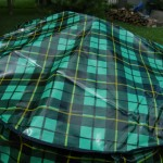 Scotch Plaid kettle cover top