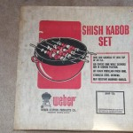 "Original Weber 22"" Shish Kabob set"