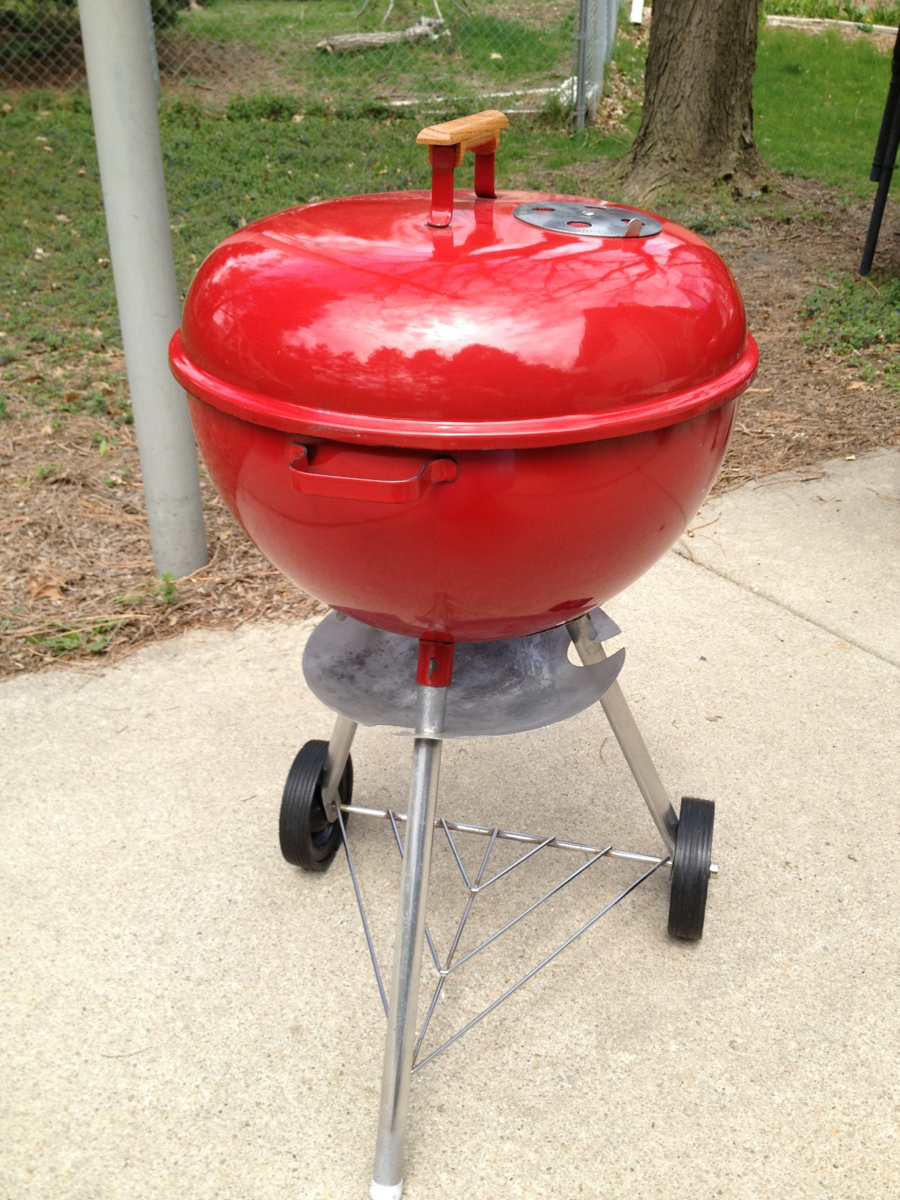 1966 1967 red weber 18 5 grill. Black Bedroom Furniture Sets. Home Design Ideas