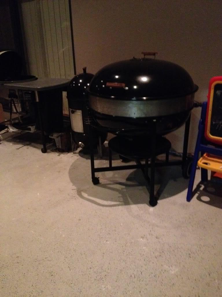 custom weber ranch kettle rotisserie weber kettle club. Black Bedroom Furniture Sets. Home Design Ideas