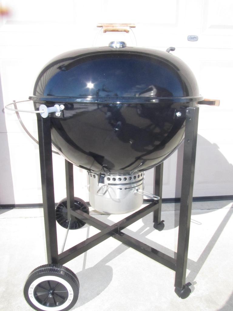 weber 26 otg on ranch kettle frame mod weber kettle club. Black Bedroom Furniture Sets. Home Design Ideas
