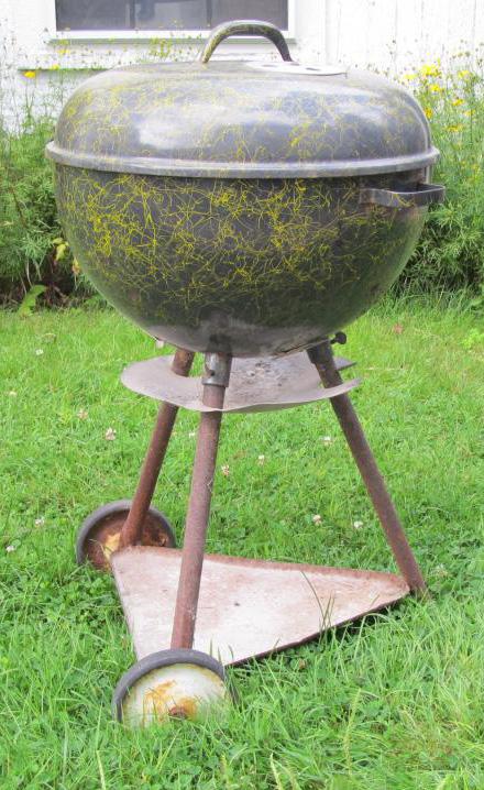 Vintage Weber Custom Kettle Grills - One is Never Enough - Weber