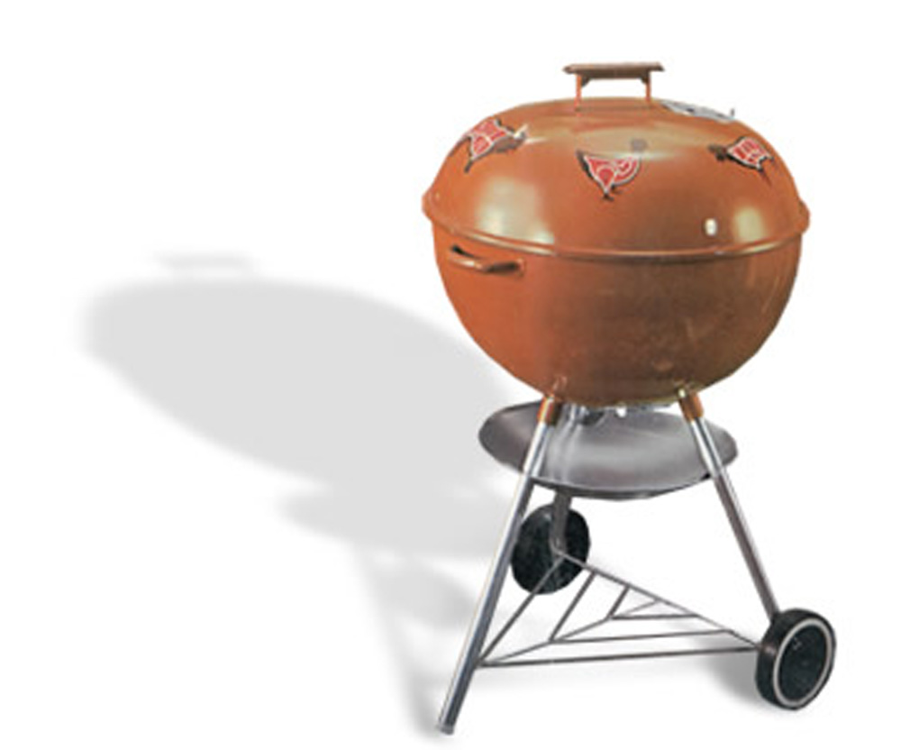 "1969 Weber Custom - The ""Meat-Cut"" kettle"