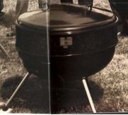 Late 50s Flat Top Weber Ranch Grill