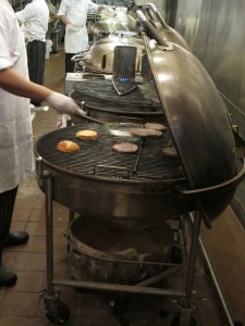Weber Ranch grills at Weber Restaurant - Schaumberg IL