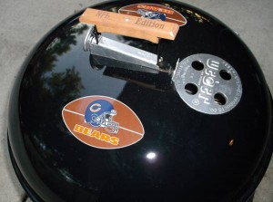 NFL Edition Weber Master Touch - Bears Logo Grill