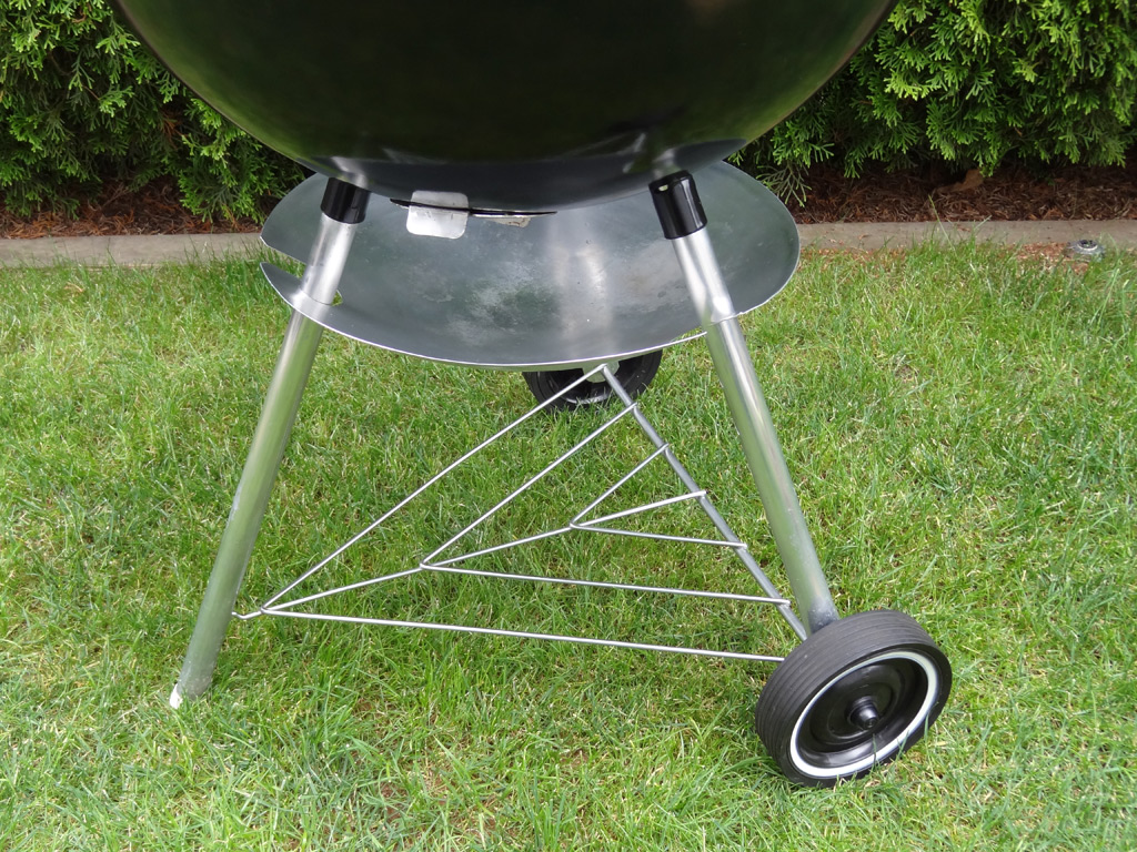 cleaned and restored Weber Charcoal Grill