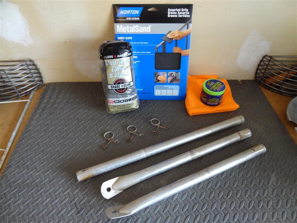 Weber Grill Leg restoration supplies