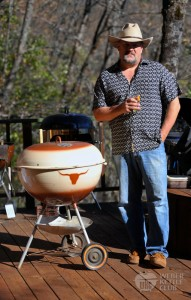 Winz and his Weber Westerner