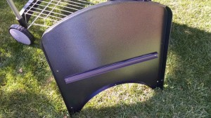 2015 Weber Performer Deluxe - Metal table under side