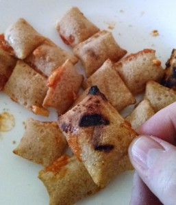 Grilled Totinos Pizza Rolls