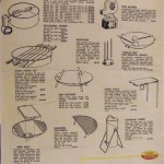 1963 Weber catalog accessory page