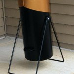 Weber charcoal caddy rear photo