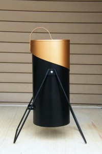 Weber charcoal caddy side profile photo 2