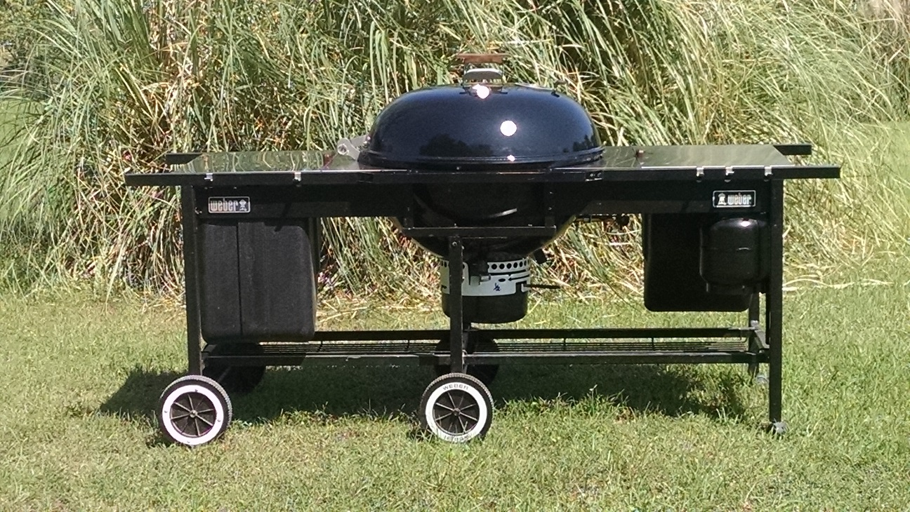 "26"" Performer cart side view"