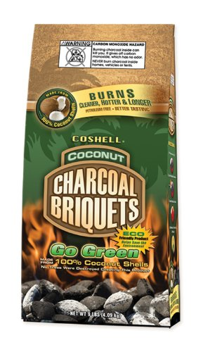 The hottest, cleanest, longest burning charcoal briquette I've ever used