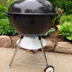 Finished Weber Texan left side profile