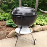Finished Weber Texan front profile