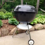 Finished Weber Texan side profile