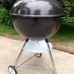 Finished Weber Texan right profile