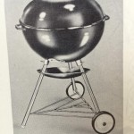 Original Weber Texan drawing