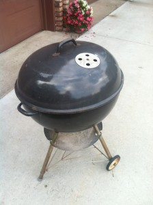 The first siting of the Weber Texan