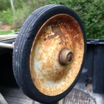 Original Weber Texan wheel