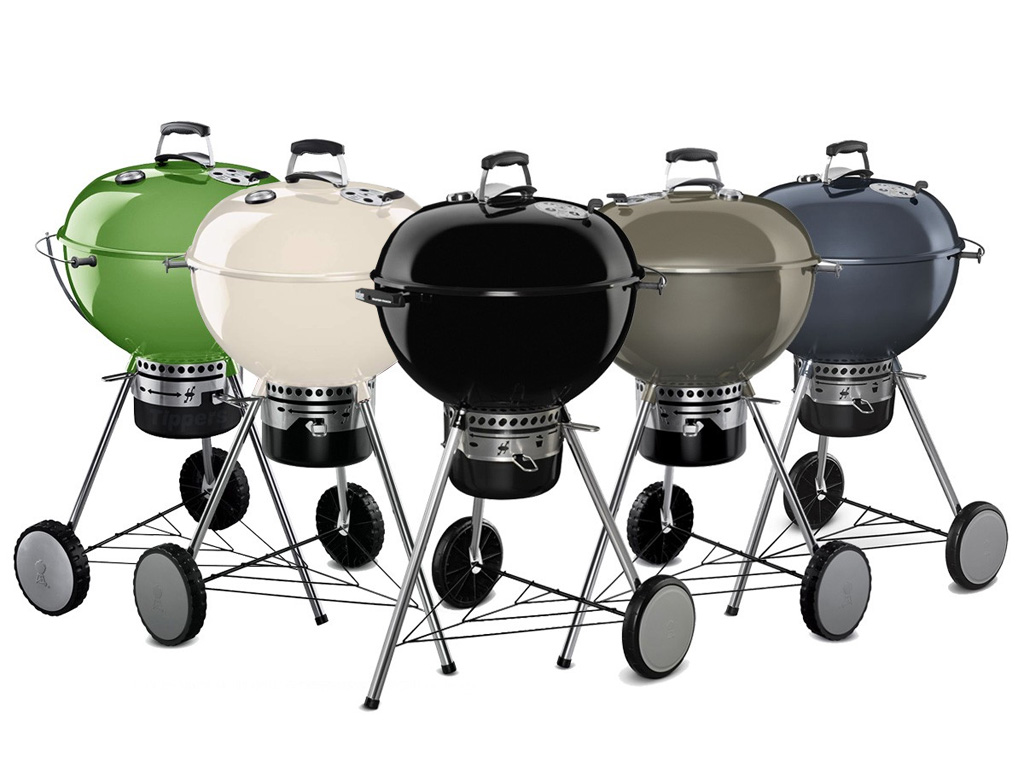 Colored Weber Master-Touch Kettles make a splash!    in Canada