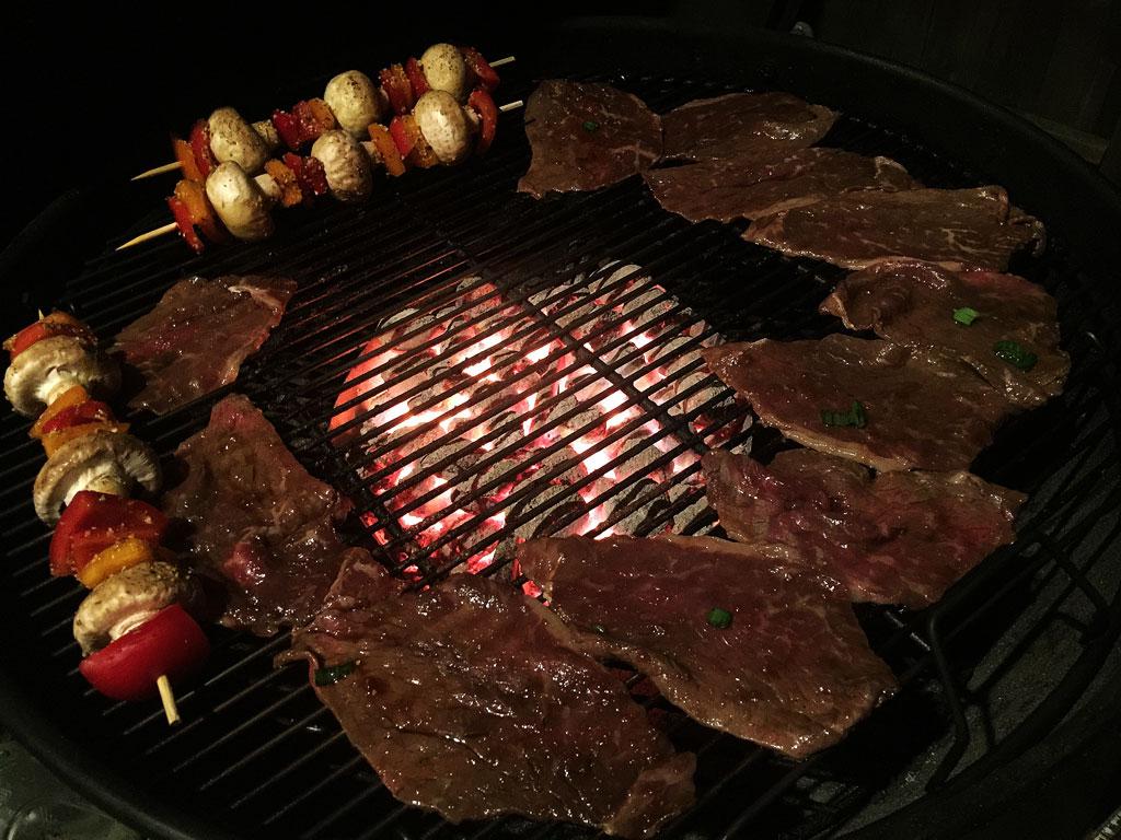 how to cook roast beef in weber