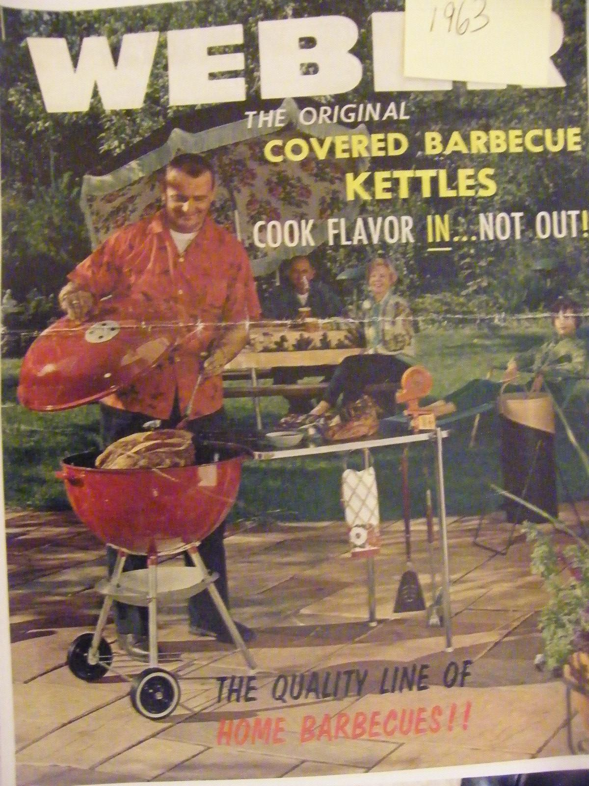 vintage weber grill image gallery weber kettle club. Black Bedroom Furniture Sets. Home Design Ideas