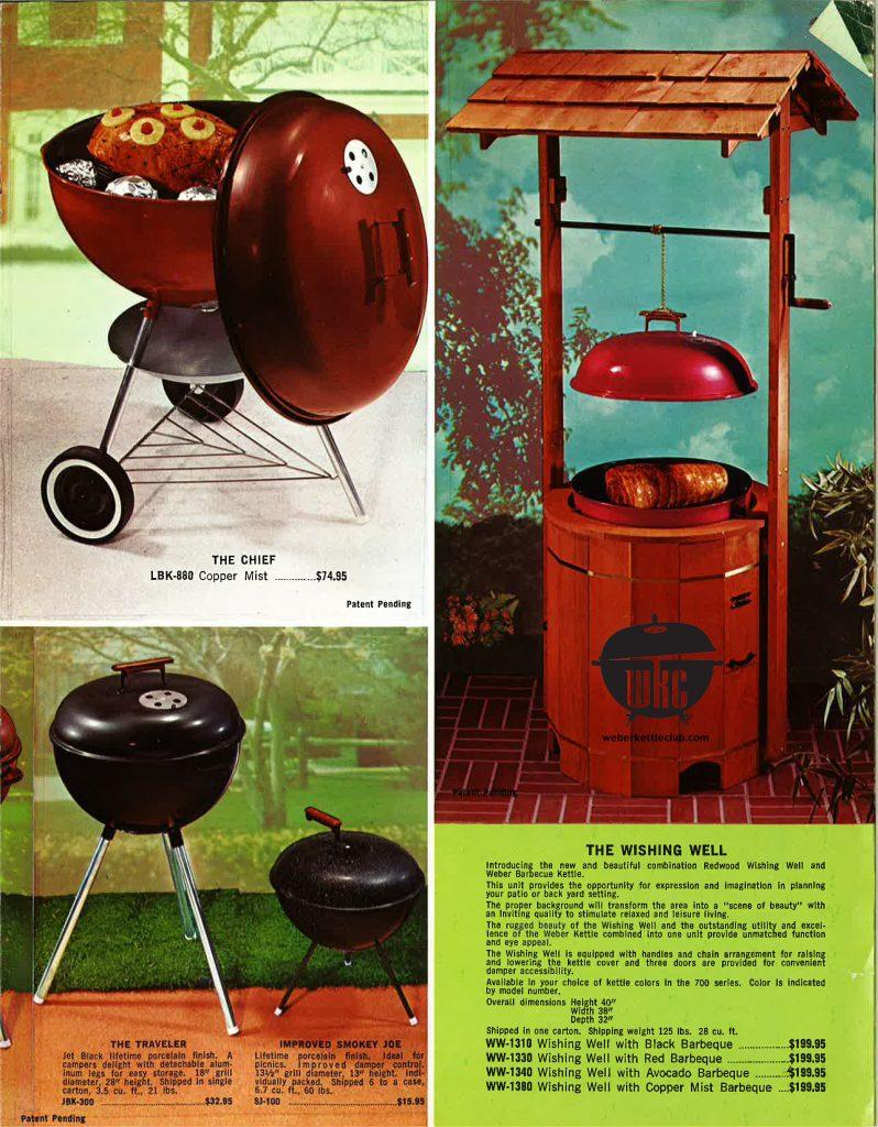 1969 weber catalog. Black Bedroom Furniture Sets. Home Design Ideas