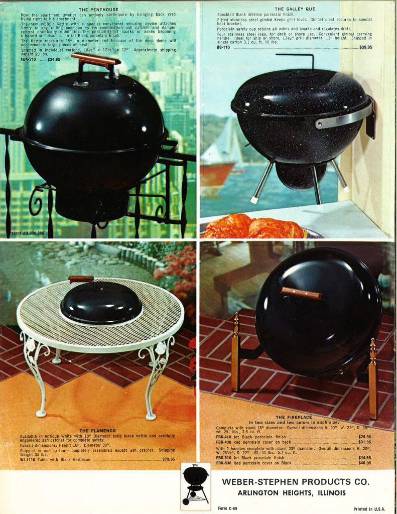 1969 weber catalog weber kettle club. Black Bedroom Furniture Sets. Home Design Ideas