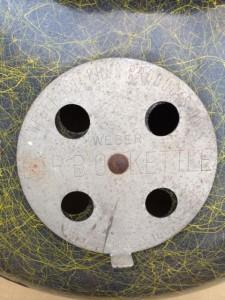 close up vent - 1956 wood dale