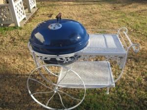 Blue Seville Chariot - Side