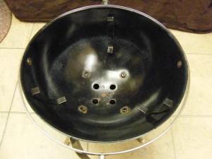 1960 Weber Galley Que - Bowl Inside