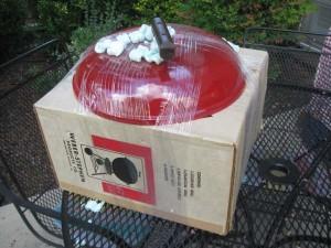 Red Offset Smokey Joe - Packaged